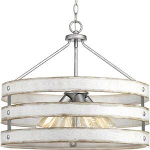 Progress Lighting Gulliver 21-5/8 in. 4-Light Pendant PP500023