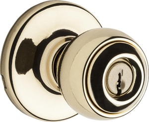 Kwikset Polo Storeroom Keyed Entry Knob in Satin Chrome K450P26D6ALRCSK4NV