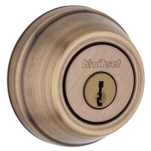 Series 780 Single Cylinder Deadbolt in Antique Brass K97802044