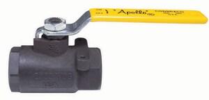 Apollo Conbraco 89-100 Series 1-1/4 in. Carbon Steel Standard Port FNPT Ball Valve A8914627