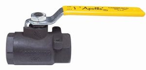 Apollo Conbraco 89-100 Series 2 in. Carbon Steel Standard Port FNPT Ball Valve with Graphite Packing, Body Seal and Bearing A891482427