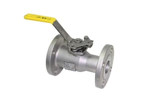 Apollo Conbraco 87A-100 Series 1-1/2 in. CF8M Stainless Steel Standard Port Flanged 150# Ball Valve A87A10701
