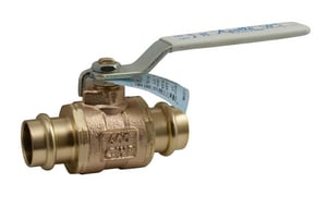 Apollo Conbraco 77WLF Series 1 in. Bronze Full Port Press 200# Ball Valve A77WLF10504
