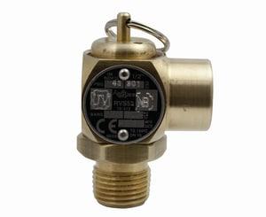 Apollo Conbraco 10-512 Series 1/2 in. Brass Threaded 40# Relief Valve A10512B40CE