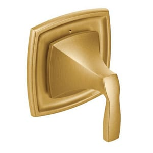 Moen Voss™ Trim with Single Lever Handle for 3372 and 3375 Transfer Valves in Brushed Gold MT4611BG