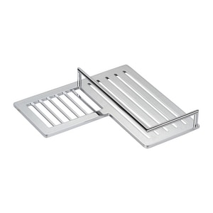 Ginger USA Surface 9-3/8 in. Other Shower Shelf in Polished Chrome G28504LPC