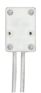 Satco 7 in. 75W 250V Socket Base in Porcelain S90475
