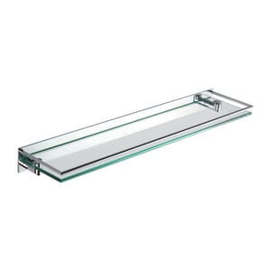 Ginger USA Surface 24 in. Gallery Shelf in Polished Chrome G2835T24PC
