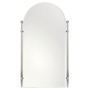 Ginger USA Chelsea 38 x 27 in. Mirror in Polished Chrome G1142PC