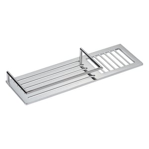 Ginger USA Surface 14 in. Combination Shower Shelf in Polished Chrome G28501PC