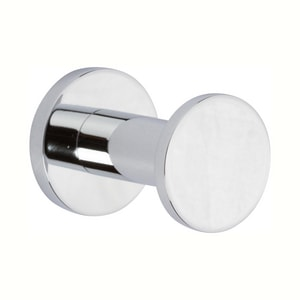 Ginger USA Kubic 1 Robe Hook in Polished Chrome G4610PC