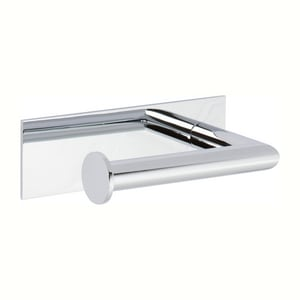 Ginger USA Surface Wall Mount Toilet Tissue Holder in Polished Chrome G2806L