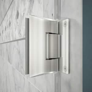 DreamLine Unidoor 61 in. Frameless Hinged Shower Door with Clear Glass DSHDR20607210