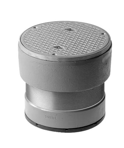 Jay R. Smith 4033 Series 6 in. Push On Cast Iron Cleanout S4033L06NS