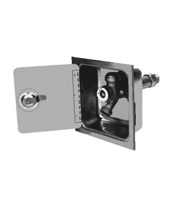 Jay R. Smith Box Type with Concealed Hose Connection for Jay R. Smith Manufacturing 1/4 in. Turn Non-Freeze Wall Hydrant With Integral Vacuum Breaker S5509QT12