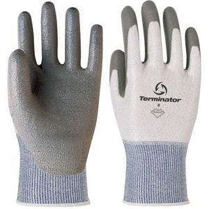 Banom Terminator® Size 8.5 Cut Resistant Palm Coated Knitwrist Glove B83055
