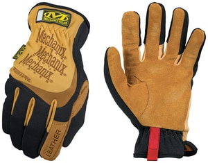 Mechanix Wear FastFit® XL Size Grain Leather Glove in Brown and Black MLFF75011