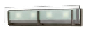 Hinkley Lighting Latitude 84W 3-Light Integrated LED Vanity Fixture in Oil Rubbed Bronze H5654OZLED2