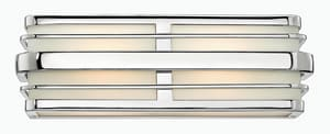 Hinkley Lighting Winton 100W 2-Light Bath Vanity Light in Polished Chrome H5232CM