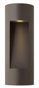 Hinkley Lighting 6 in. 20W 2-Light Wall Lantern in Bronze H1660BZ