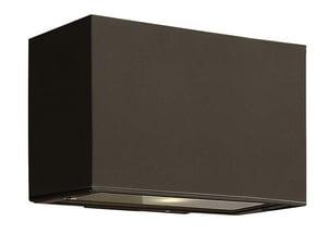 Hinkley Lighting 9 in. 75W 1-Light Medium E-26 Outdoor Wall Sconce in Bronze H1645BZ