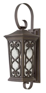 Hinkley Lighting Enzo 15W 1-Light LED Outdoor Wall Sconce in Oil Rubbed Bronze H2278OZ
