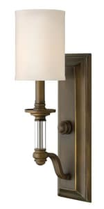 Hinkley Lighting Sussex 4-1/2 in. 60W 1-Light Wall Sconce in EnglishBronze H4790EZ