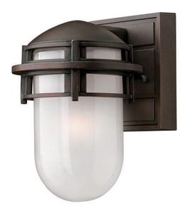 Hinkley Lighting Reef 60W 1-Light Medium E-26 Incandescent Outdoor Wall Sconce in Venetian® Bronze H1956VZ