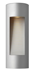 Hinkley Lighting 20 W 2-Light Sconce in Titanium H1660TT