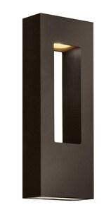 Hinkley Lighting 6 in. 35W 2-Light Wall Lantern in Bronze H1648BZLED