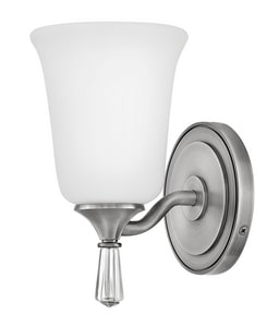 Hinkley Lighting Blythe 100W 1-Light Medium E-26 Incandescent Vanity Fixture in Antique Nickel H5280AN