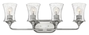 Hinkley Lighting Thistledown 100W 4-Light Medium E-26 Bath Light in Polished Nickel H51804PN