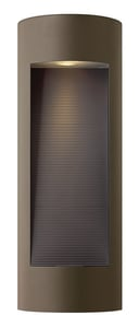 Hinkley Lighting 9 in. 20W 2-Light Wall Lantern in Bronze H1664BZ