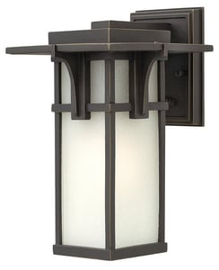 Hinkley Lighting 11-4/5 in. 100W 1-Light Outdoor Wall Lantern in Oil Rubbed Bronze H2230OZ