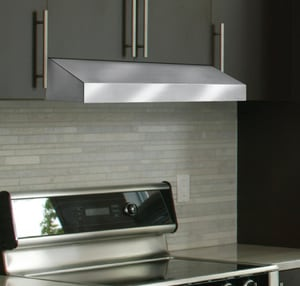 Vent-A-Hood 6 x 36 in. Under-Cabinet Range Hood in Stainless Steel VPRH6K36SS