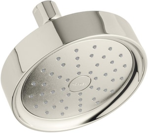 Kohler Purist® Single Function Full Showerhead in Vibrant Polished Nickel K939-G-SN