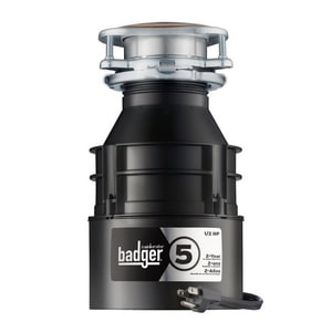 InSinkErator® Badger® 5 1/2 hp Garbage Disposal with Cord IBADGER5WC