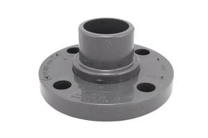Xirtec® 2 in. Spigot Schedule 80 Van Stone Style PVC Flange with Ring P80SPF