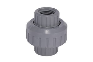 Corzan® 3/4 in. FPT Straight Schedule 80 CPVC Union with Viton O-Ring Seal CP80TUVF