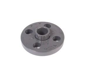 Xirtec® 1/2 in. Flanged x Socket Van Stone Socket Weld Schedule 80 PVC Flange P80VSS
