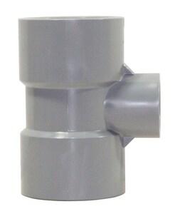 Corzan® 2 x 2 x 1-1/2 in. Socket Reducing Schedule 80 CPVC Tee CP80STKJ
