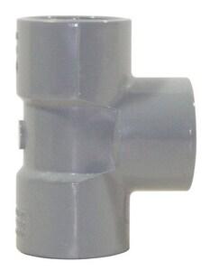 Corzan® 1-1/2 in. Socket Straight Schedule 80 CPVC Tee CP80ST