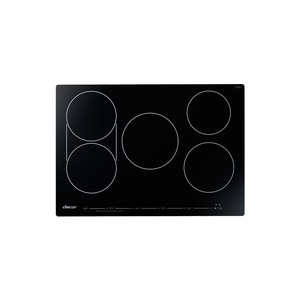 Dacor Professional Collection 30 in. 5-Burner 5-Element Induction Cooktop in Black Glass DHICT305BG