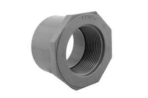 3 x 1 in. Spigot x FPT Reducing Schedule 80 PVC Bushing P80SFBMG
