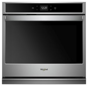Whirlpool 30 in. 5 cf Single Wall Oven in Stainless Steel WWOS51EC0H