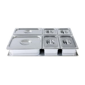 Wolf Range 6-Piece Container Set in Stainless Steel W808529