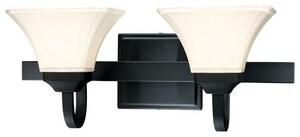 Minka Agilis™ 8-3/4 in. 100 W 2-Light Medium Bracket in Black M681266