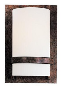 Minka-Lavery Fieldale Lodge 100W 1-Light Wall Sconce in Iron Oxide M342357