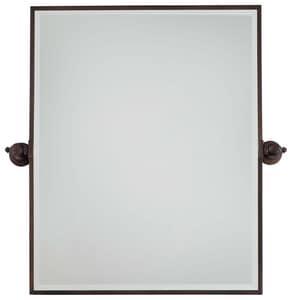 Minka-Lavery 30 x 24 in. Rectangle Pivoting Mirror in Dark Brushed Bronze M1441267
