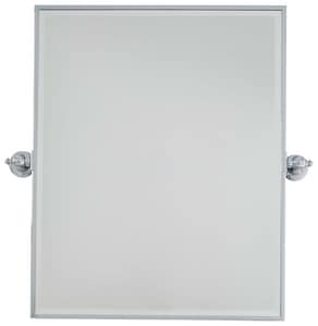Minka-Lavery 30 x 24 in. Rectangle Pivoting Mirror in Polished Chrome M144177